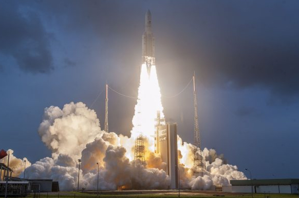 Ariane 5 Delivers for Two Special Arianespace Partners: the Space Agencies of India and South Korea
