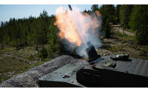 BAE Systems Delivers New CV90 Mortar Variant to the Swedish Army