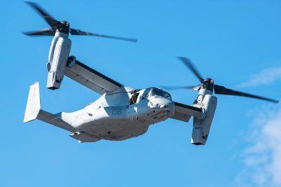 Bell Boeing V-22 Osprey Fleet Surpasses 500,000 Flight Hours
