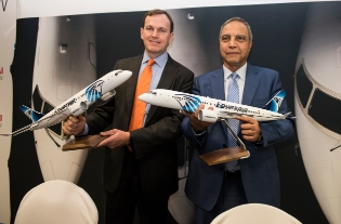 Bombardier Signs Letter of Intent with EgyptAir for Up to 24 CS300 Aircraft
