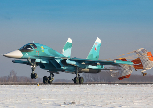 Central Military District Receives Two Su-34 Fighter Bombers Under State Defence Order