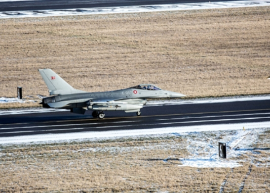 Denmark and Italy Help Secure Baltic Airspace