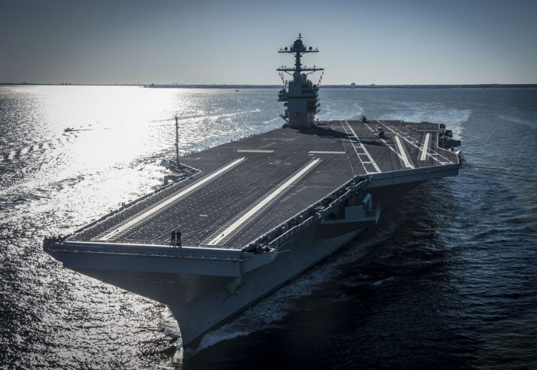 Faulty Bomb Elevators Make for Rough Going in Aircraft Carrier Deal