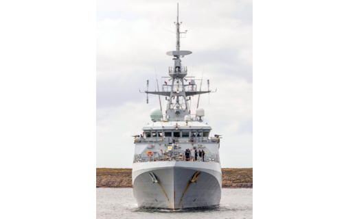 Forth Age Starts as New Patrol Ship Begins Work in Falklands