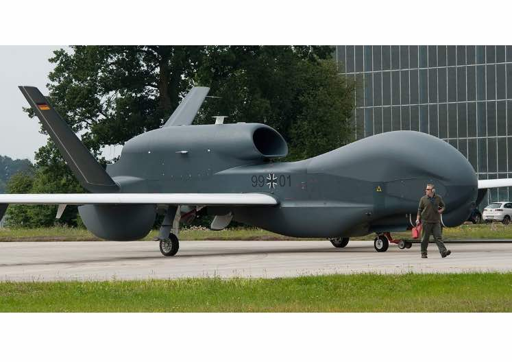 Germany Looking to Sell Costly, Rarely Used Drone to Canada