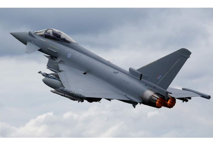 It's a Battle for Britain to Sell the Eurofighter