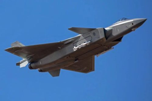 J-20 Jets Showcase Missiles