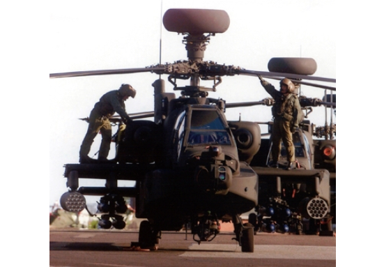Leonardo Awarded £293 Million Apache Integrated Operational Support Contract by the UK MoD