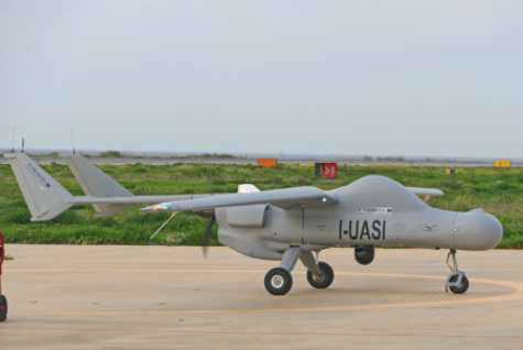 Leonardo Deploys Its Falco EVO Remotely-Piloted Air System for Drone-Based Maritime Surveillance As Part of the Frontex Test Programme