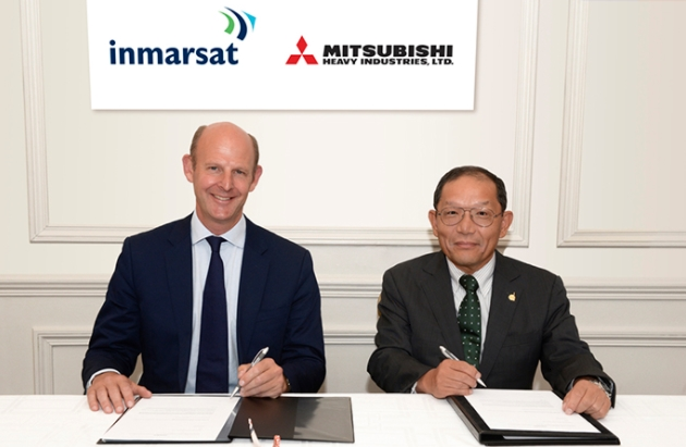 MHI Selected by Inmarsat to Launch its First Inmarsat-6 Satellite