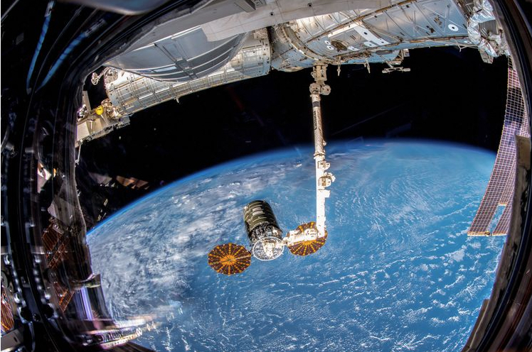 Northrop Grumman's Cygnus Spacecraft Departs International Space Station