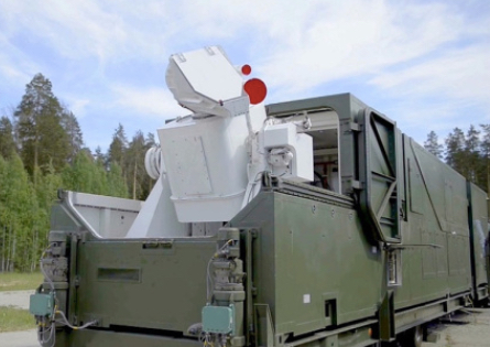 Peresvet Combat Lasers Enter Duty with Russia's Armed Forces