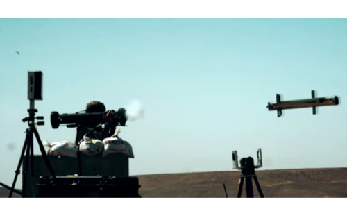 RAFAEL Releases New Video Footage from SPIKE SR Weapon System Demo