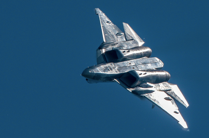 Russia's 5th-Generation Fighter Jet Gets Advanced Stealth Coating