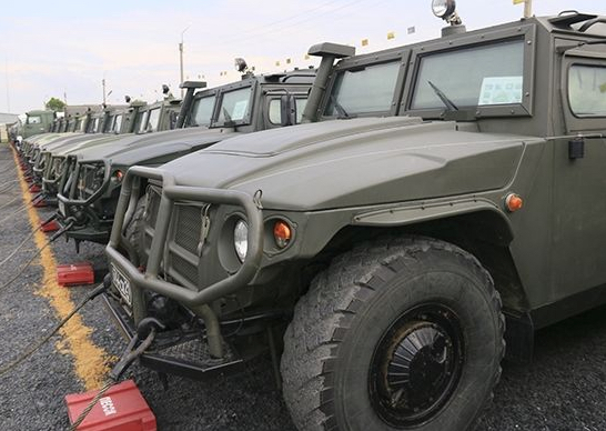Russian Military Shifts Tigr Armored Vehicle Procurement Primarily to Upgraded Tigr-M Model