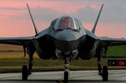 Second Lightning Fighter Jet Squadron Arrives in UK