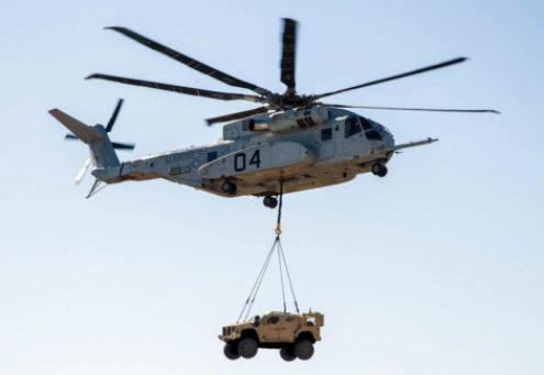 Sikorsky and Rheinmetall Submit Proposal for Germany's New Heavy Lift Helicopter, the CH-53K