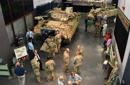 Soldiers to Operate Armed Robotic Vehicles from Upgraded Bradleys