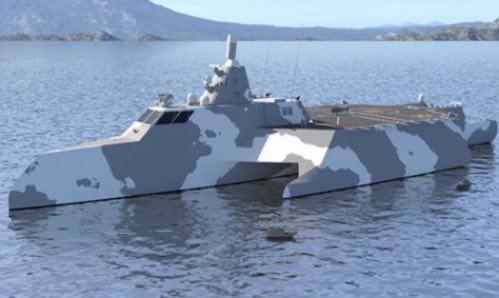 TX Ship: A New Concept in Autonomous Naval Vessels