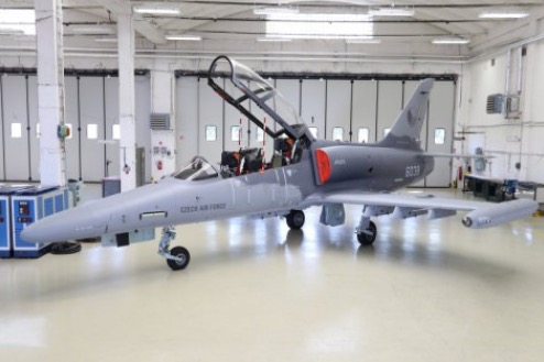 The Czech Army Took Over Three Two-Seat L-159T2 Aircraft
