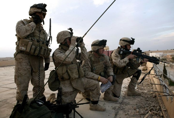 US Marines Conduct Virtual Training for First Time at Northrop Grumman Distributed Training Center