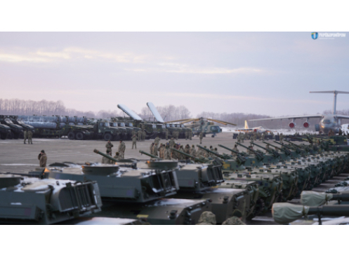 Ukroboronprom Handed Over to the Army Almost 26,000 Weapons and Equipment