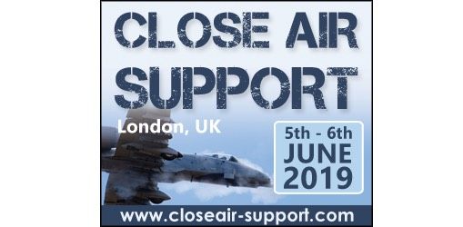 Senior military officials from US Air Force, US Army, UK MoD and French Air Force to present exclusive briefings at Close Air Support 2019