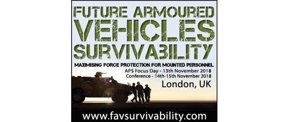 Dedicated Active Protection Systems Focus Day hosted alongside 4th annual Future Armoured Vehicles Survivability Conference
