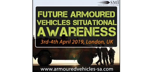 Four top technical vendors & OEM's to present at Future Armoured Vehicles Situational Awareness 2019 in three weeks' time